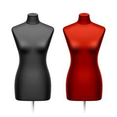 Female tailors dummy, mannequin