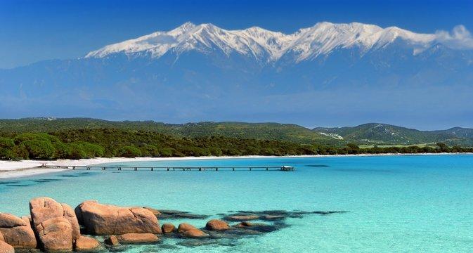 plage et montagne
