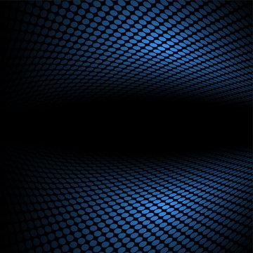 business concept blue halftone background illustration
