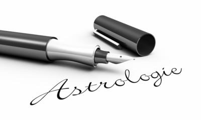 Astrologie - Stift Konzept