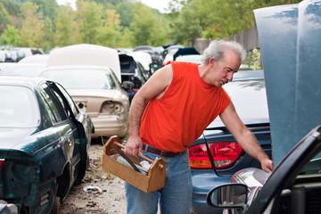 Backyard Mechanic Junk Yard Shopping