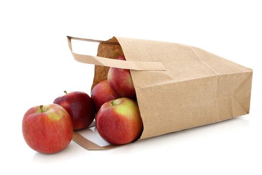 Apples in a Brown Paper Bag