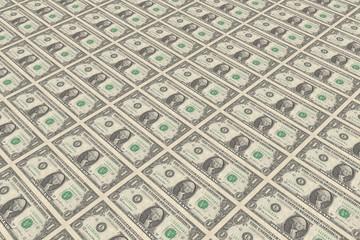 1 Dollar Banknoten