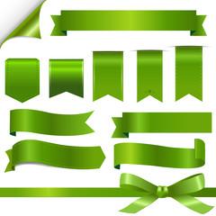 Green Ribbons Set