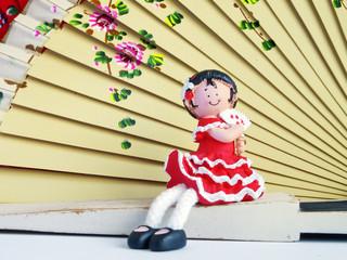 muñeca flamenca de sevilla,españa