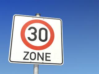 bilder und videos suchen tempo 30 zone verkehrszeichen. Black Bedroom Furniture Sets. Home Design Ideas