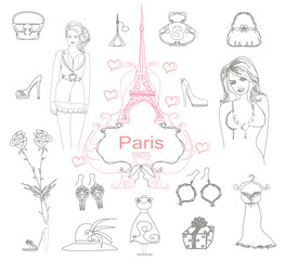 Paris doodles.