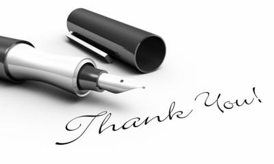Thank You! - Stift Konzept