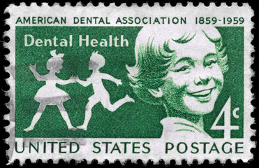 USA - CIRCA 1959 Dental Health