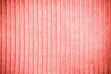 Orange corduroy texture in vintage style