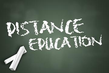 """Chalkboard """"Distance Education"""""""