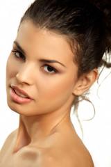 Beautiful brown eyed girl