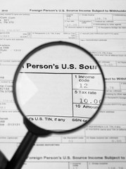 Tax forms , U.S Individual Income Tax Return.