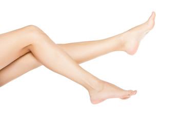 woman smooth feet