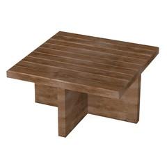 3d render of garden furniture