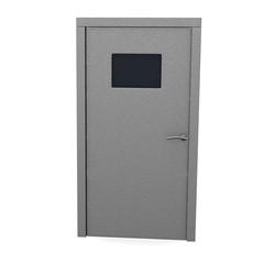 3d render of classic door