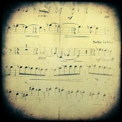 Vintage musical background