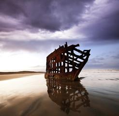 Acrylic Prints Shipwreck Wreck