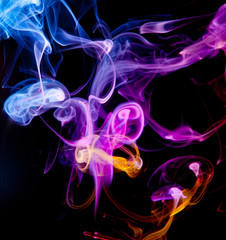 абстракция-дым