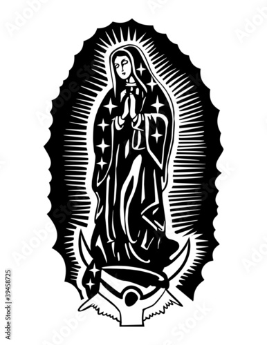 Of Guadalupe Coloring Pictures To Pin On Pinterest Our Of Guadalupe Coloring Page
