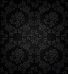 Corduroy dark background,  flowers texture fabric