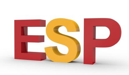 Kennzeichen ESP