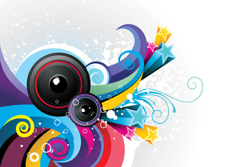 music color vector