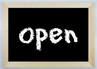 Tafel - open