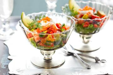 delicious cocktail  salad