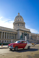 The Capitol of Havana, Cuba.
