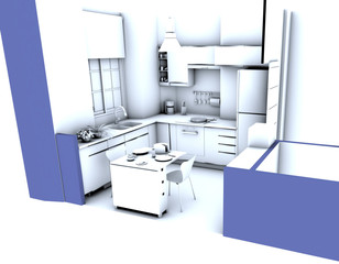 Cocina Integral Modelo 2