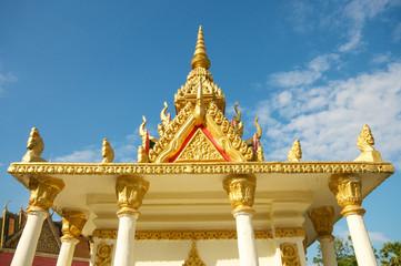 Golden Temple in Cambodia