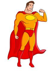 Poster Superheroes Superhero cartoon character