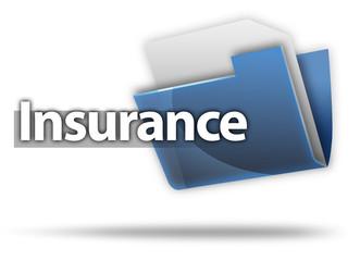 "3D Style Folder Icon ""Insurance"""