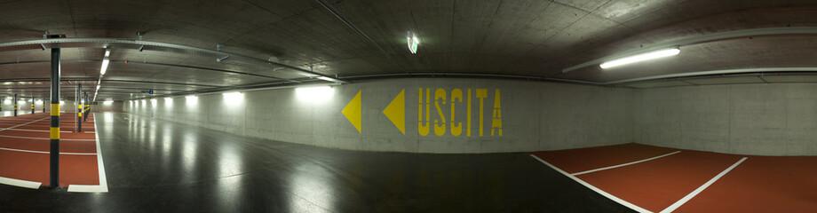 parking underground empty