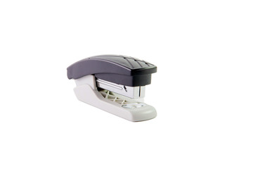 Black and metal office stapler