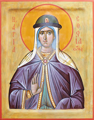 Icon of saint Sophia of Slutsk