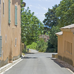 French Village, town in Provence. France