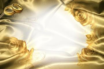 Illustration: Karte zur goldenen Hochzeit
