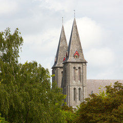The abbey of Maredsous