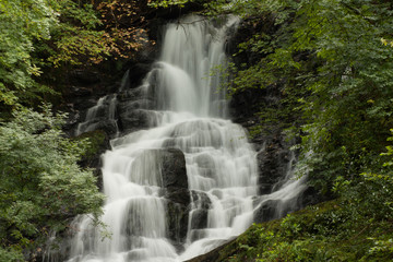 A waterfall in central Ireland