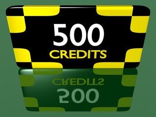 Plaque 500 crédits 1.01