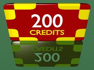 Plaque 200 crédits 1.01