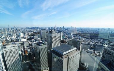 Keuken foto achterwand Tokyo Tokyo panorama