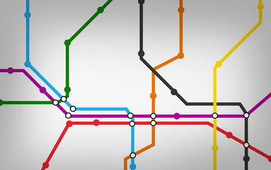 lignes de métro
