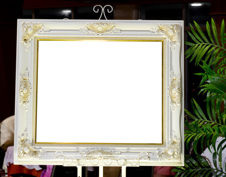 Pretty wedding picture frame