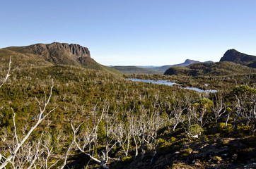 Lake Elysia - The Labyrinth, Tasmania, Australia