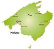 Mallorca als Internetkarte