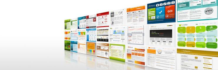 Webdesign, Banner, Homepage, Website, Template, www, Gallerie