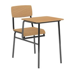 3d render of school chair